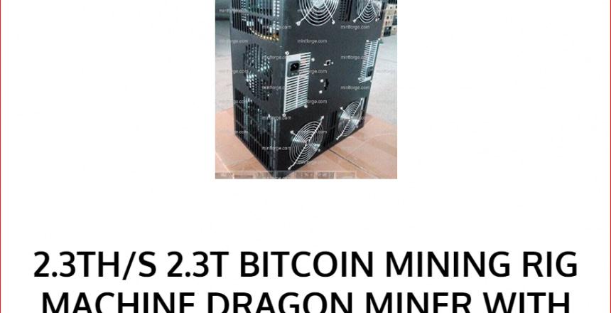 2.3th bitcoin mininng rig