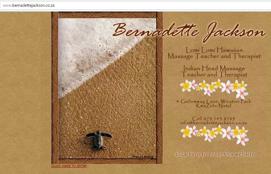 Bernadette Jackson Kahuna Massage