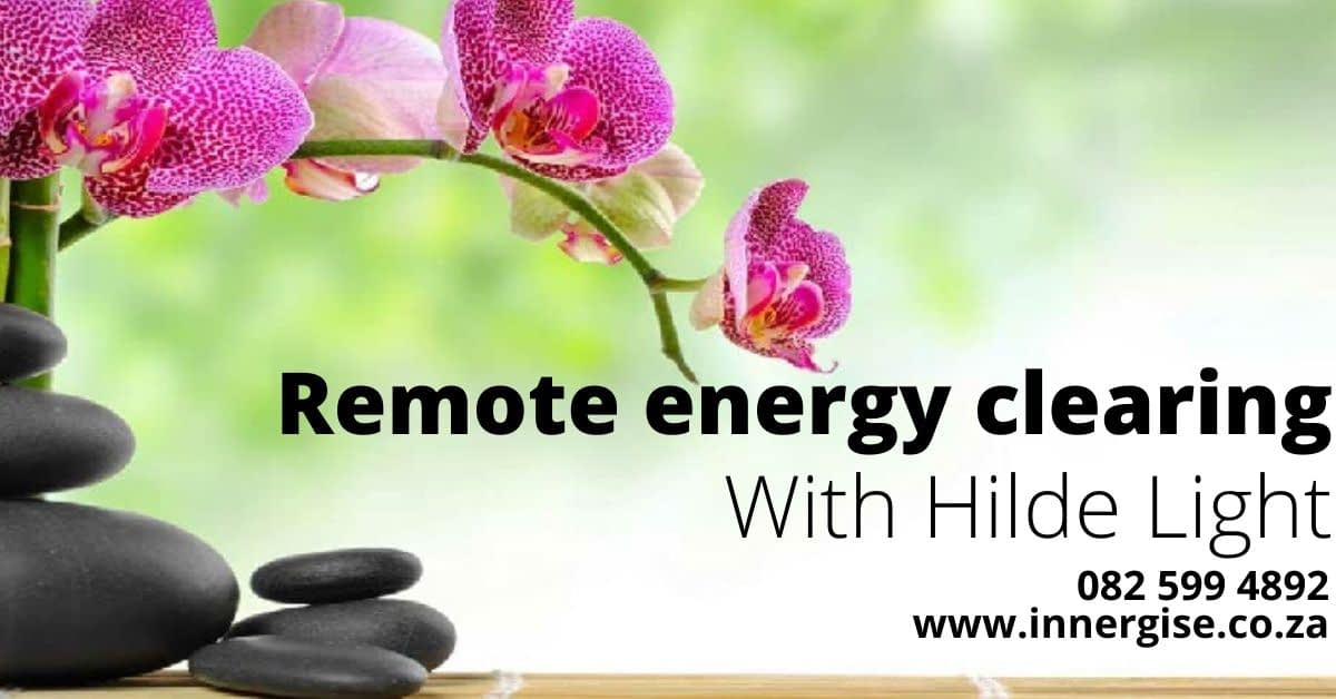 Remote energy clearing with Hilde Light