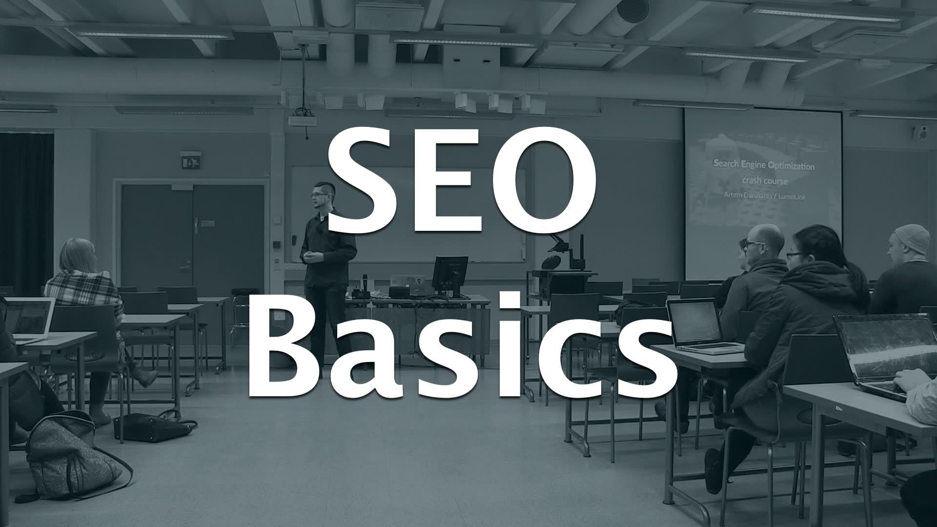 A Very Basic Search Engine Optimisation Crash Course